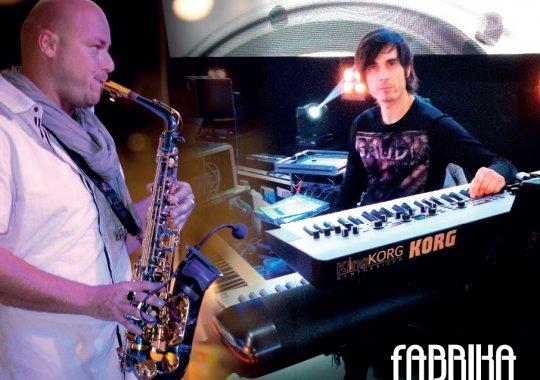 Koncert ve fabrika restaurantu - Martin Vaverka & Pavol Bartovic