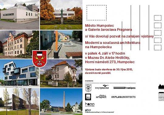 Moderní a současná architektura na Humpolecku