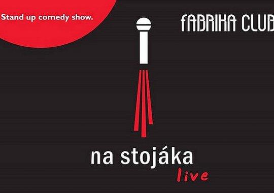 NA STOJÁKA LIVE ve fabrice 10.10. od 17:00 a 20:00 hodin!