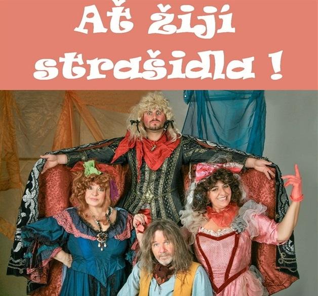 Divadelní představení pro děti - Ať žijí strašidla!