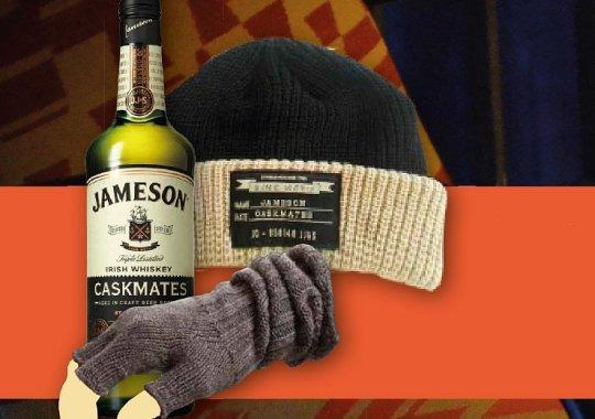 FABRIKA CLUB: pátek 13.10. Jameson & Jameson Caskmates se super zimními dárky