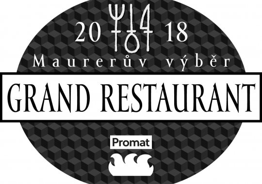 Fabrika restaurant opět zařazen do GRAND RESTAURANT 2018