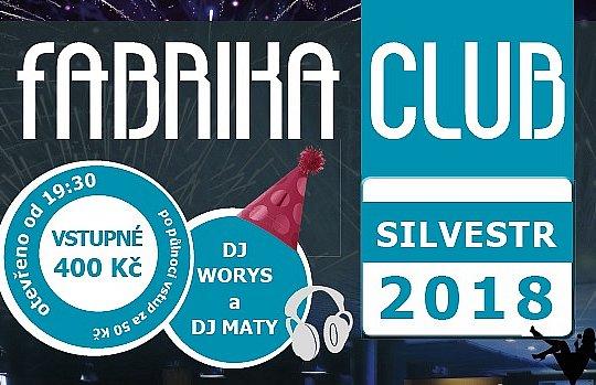 FABRIKA CLUB: SILVESTR 2018
