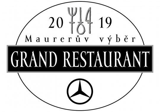 Fabrika restaurant opět zařazen do GRAND RESTAURANT 2019!