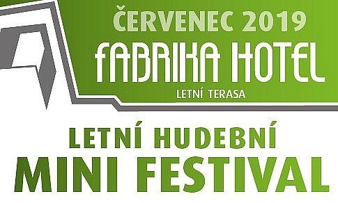 Letní hudební MINI festival 2019 ČERVENEC