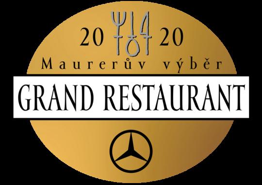 Fabrika restaurant opět zařazen do GRAND RESTAURANT 2020!
